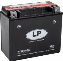 YTX20L-BS, Аккумулятор Landport YTX20L-BS, 12V, AGM