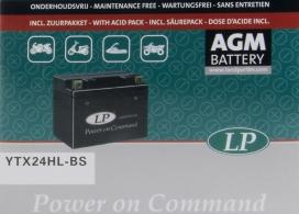 YTX24HL-BS, Ytx24hl-bs аккумулятор мото agm