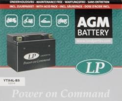 MB YTX4L-BS, Аккумулятор AGM YTX4L-BS