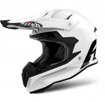 TOV1 (белый, L), Шлем кроссовый Airoh Terminator Open Vision, размер L, цвет белый