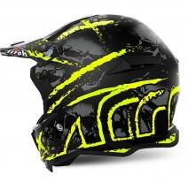 TOVCA3 (Стекловолокно, мат., Черный/Желтый, M), Шлем кроссовый Terminator Open Vision Carnage желтый, размер M, цвет Желтый