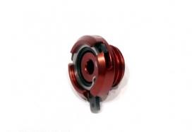 TP008R, Крышка маслозаливной горловины красная, цвет Красный