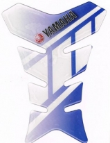 D7370-600-04, Накладка на бак yamaha, синяя, цвет синяя
