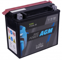 IA YTX20L-BS, Аккумулятор intAct IA YTX20L-BS, 12V, AGM