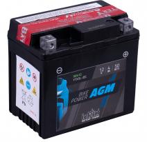 IA YTX5L-BS, Аккумулятор intAct IA YTX5L-BS, 12V, AGM