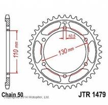1479.47, Звезда задняя (ведомая) JTR1479 для мотоцикла стальная