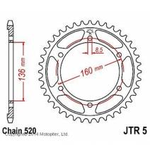 5.47, Звезда задняя (ведомая) для мотоцикла JTR5