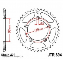 894.48, Звезда задняя (ведомая) jtr894 для мотоцикла стальная