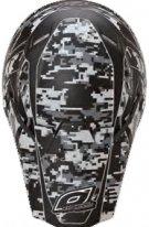 0618D-10 (Термопластик, мат., Серый, XL), Кроссовый шлем 5Series DIGI CAMO серый, цвет Серый