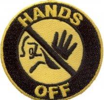 06461123, Нашивка hands off
