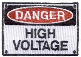 09761131, Опасно! высокое напряжение