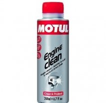 104976, промывка  двигателя Engine Clean Moto 0,200л, размер 0,200