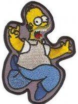 12641144, Гомер симпсон с термоклеем.