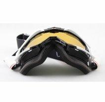 13950-MTNR, Маска снегоходная Ariete RIDING CROWS Snowmobile Top, цвет черно-белая