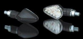 203-770, Светодиодные поворотники harpoon пара, цвет черный