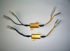 207-025, Резистор, для поворотника , 6.8 ом, 25w, пара