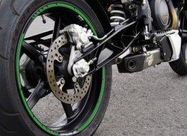 319-965, Наклейка на колесный диск gp-style зеленый