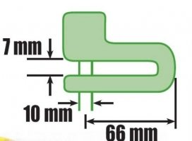 390-625, ЗАМОК Luma на тормозной диск 10mm