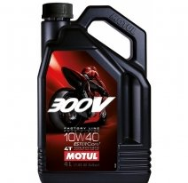 104118, Motul 300v 4t fl road racing 10w-40, размер 1 л