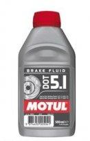 100950, Тормозная жидкость motul dot 5.1, размер 0,5л.