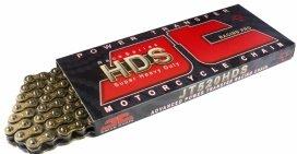 520HDS-GB110, Цепь JT 520HDS, золото, 110 звеньев, без уплотнения, от 125 до 500 ccm