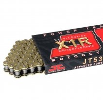 530X1R-GB112, Цепь приводная 530,120 звеньев, сальники XRing (JT 530X1R-GB120)