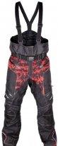 A07785 (Черный/Красный, XXL), Снегоходные штаны Taiga, черный/красный