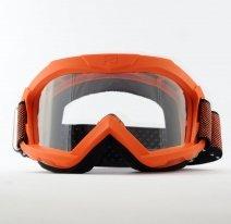 12960-OPO, Маска кроссовая Ariete 07 Next Gen 2021, оранжевый, прозрачная линзы