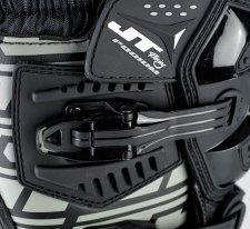 JT15PB056, Набор ремешков для мотобот podium черные