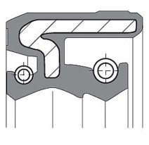 ARI.067, Сальники ariete ari.067  45x57x11, размер 45