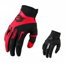 E031-1 (красный/черный, XS), Перчатки эндуро-мотокросс O'NEAL Element Youth 21, детские, унисекс, размер XS, цвет красный