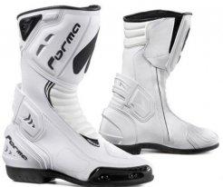 FORV180 (Белый, 40), Спортивные мотоботы FRECCIA белые.
