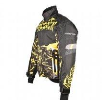 A07586 (Черный/Желтый, размер M), Снегоходная куртка Taiga, черная/желтая