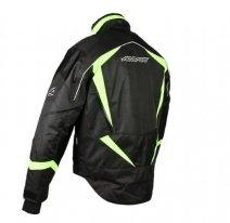 A07576-035-XL, Снегоходная куртка arctic  черная/флуоресцентно желтая