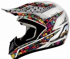 JMC38-XL, Кроссовый шлем jumper multicolor цветной, размер XL