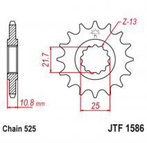 1586.16, Звезда ведущая , JT 1586.16