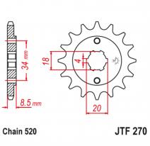 270.14, Звезда ведущая , JT 270.14