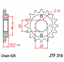 314.16, Звезда ведущая , JT 314.16