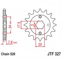 327.14, Звезда ведущая , JT 327.14
