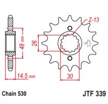 339.18, Звезда ведущая , JT 339.18