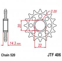 406.16, Звезда ведущая , JT 406.16