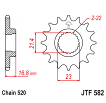 582.16, Звезда ведущая , JT 582.16