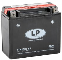 YTX20HL-BS, Аккумулятор Landport YTX20HL-BS, 12V, AGM