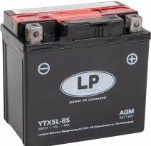 YTX5L-BS, Аккумулятор Landport YTX5L-BS, 12V, AGM