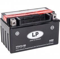 YTX7A-BS, Аккумулятор Landport YTX7A-BS, 12V, AGM