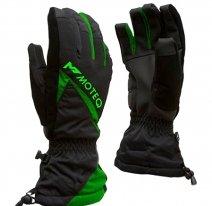 M01313 (черный/оранжевый, XS), Зимние перчатки MOTEQ СНЕЖОК, размер XS, цвет черный