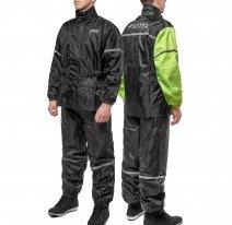 M01902 (Черный, XXS), Дождевик MOTEQ WET DOG, раздельный (куртка + штаны), размер XXS, цвет черный