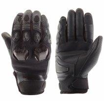 M02301 (Черный, XL), Кожаные перчатки Stinger черные
