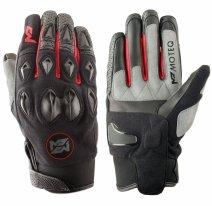 M02303 (Черный/Красный, XS), Текстильные перчатки District