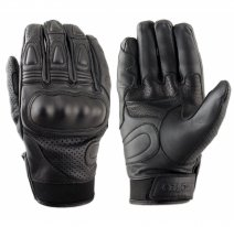 M02304 (Черный, S), Перчатки мотоциклетные MOTEQ Crossfire перфорация, мужской(ие), размер S, цвет черный